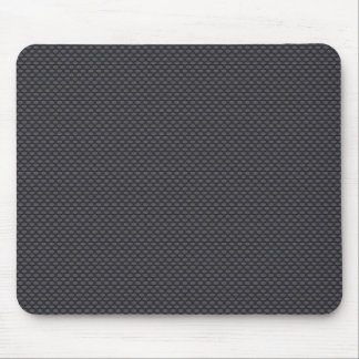 Black carbon fiber mouse pad