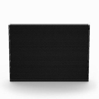 Black Carbon Fiber Print Award