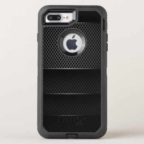 Black Carbon Mesh - Phone Case