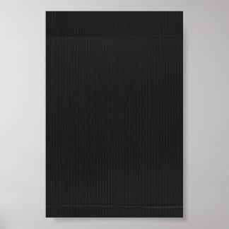 Black Cardboard Textured Background Posters