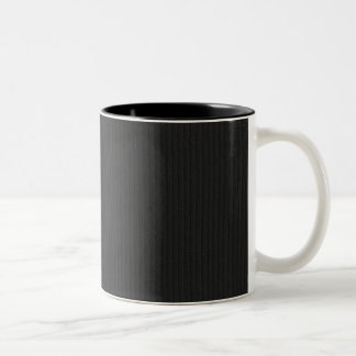 Black Cardboard Textured Background Two-Tone Coffee Mug