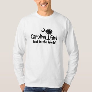 Black Carolina Girl Best in the World T-Shirt