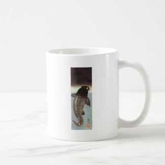 Black carp by Utagawa Kuniyoshi Coffee Mug