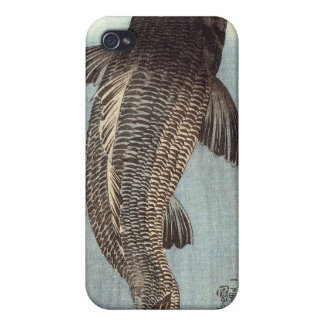 Black Carp iPhone 4 Case
