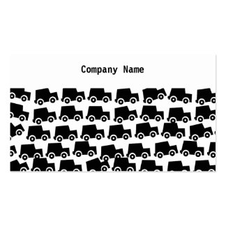 Black Cars, Company Name Business Card