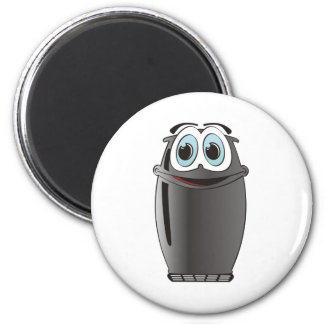 Black Cartoon Refrigerator Magnet