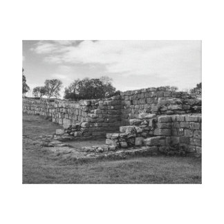 Black Carts Turret on Hadrian's Wall Canvas Print