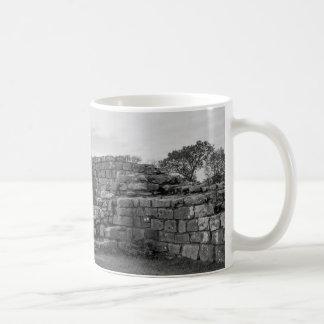Black Carts Turret on Hadrian's Wall Coffee Mug