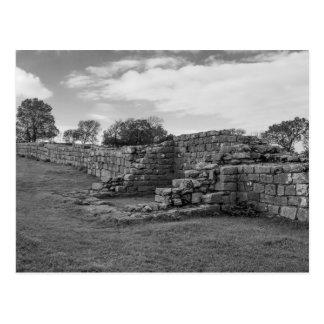 Black Carts Turret on Hadrian's Wall Postcard