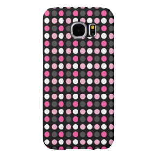 Black Case with pink Points