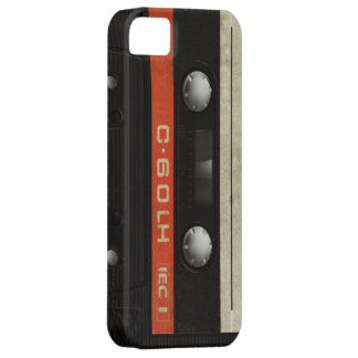 Black Cassette Case Cover iPhone 5 Cases