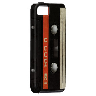 Black Cassette Mobile Phone Case