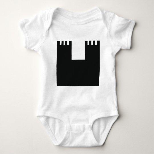 black castle chateau baby bodysuit