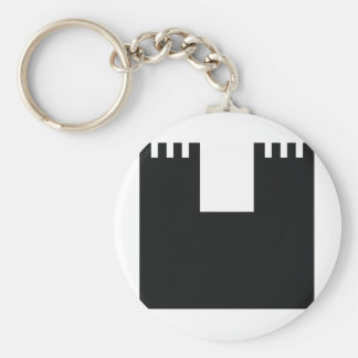 black castle chateau keychain