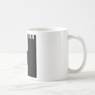 black castle coffee mug