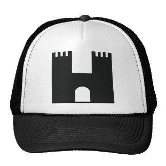 black castle trucker hats