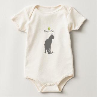 Black Cat3 g5 Baby Bodysuit