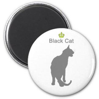Black Cat3 g5 2 Inch Round Magnet