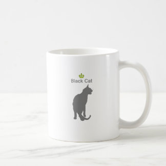 Black Cat3 g5 Classic White Coffee Mug