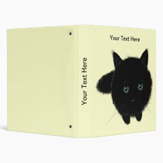 Black Cat 3 Ring Binder
