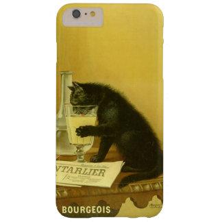 Black Cat Absinthe Bourgeois Art Nouveau Vintage Barely There iPhone 6 Plus Case