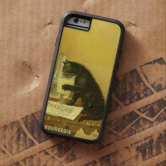 Black Cat Absinthe Bourgeois Art Nouveau Vintage Tough Xtreme iPhone 6 Case