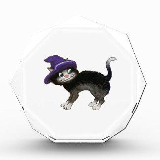 Black Cat Acrylic Award