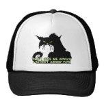 Black Cat Advice Saying Trucker Hat
