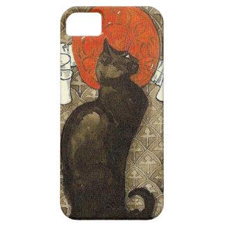 Black Cat, Alexandre Steinlen iPhone SE/5/5s Case