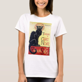 Black Cat, Alexandre Steinlen T-Shirt
