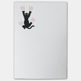 Black Cat all claws Post-it Notes
