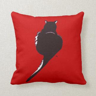 Black Cat American MoJo Pillow