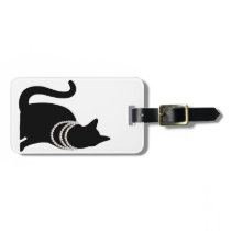 Black cat and jewel ragetsujitagu bag tag