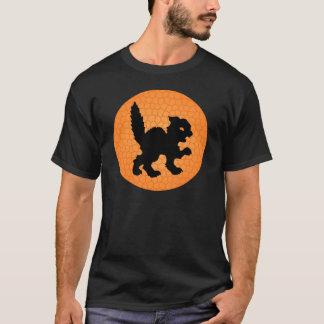 Black Cat and Moon T-Shirt