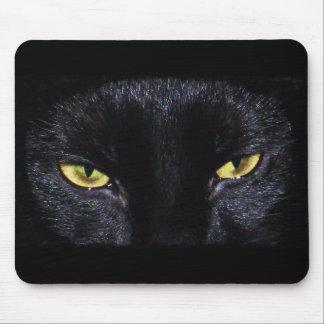 Black Cat And Mousepad