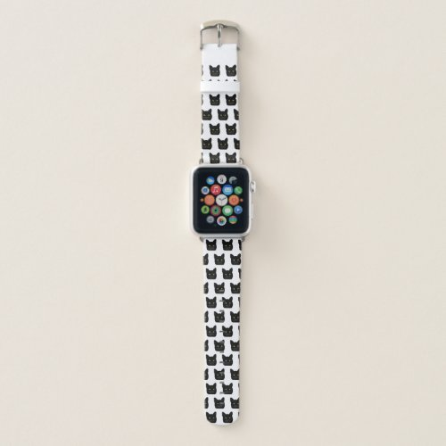 Black Cat Apple Watch Band