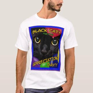 Black Cat Appreciation Day 2011 T-Shirt