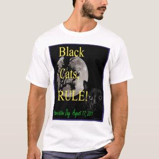 Black Cat Appreciation Day T-Shirt