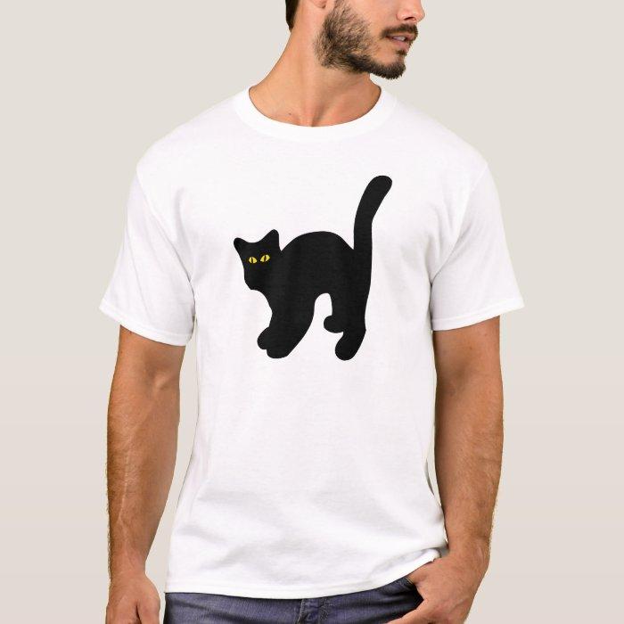 black cat arched back T-Shirt