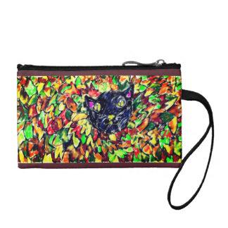 black cat art 2 change purse