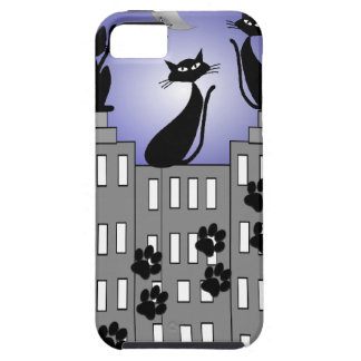 Black Cat Art for Cat Lovers iPhone 5 Cover