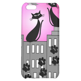 Black Cat Art Gifts iPhone 5C Cover