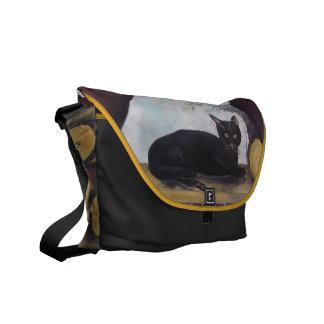 Black Cat Art rickshaw bag Made in the USA