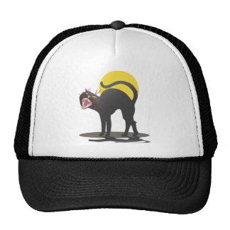 Black Cat Attack Trucker Hat