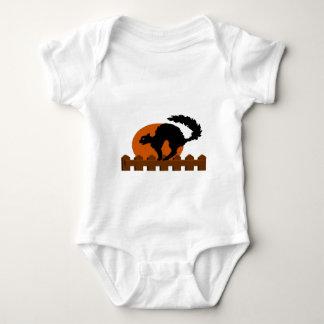 Black Cat Baby Bodysuit
