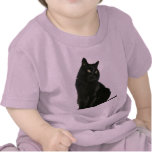 Black Cat Baby Infant T-Shirt