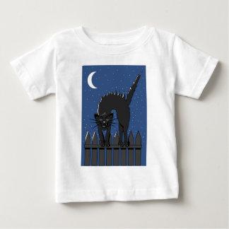 Black Cat Baby T-Shirt