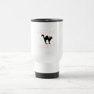 Black Cat Bad Luck Travel Mug