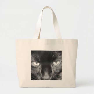 Black Cat Canvas Bag