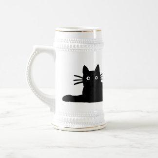 Black Cat Beer Stein